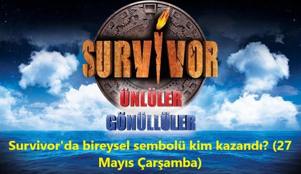 Survivor'da bireysel sembol oyununu kim kazandı? Sürpriz isim...