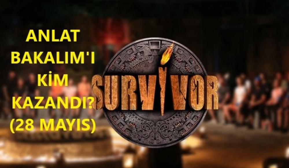 Survivor'da Anlat Bakalım'ı kim kazandı, ödül ne oldu? (28 Mayıs Perşmebe)