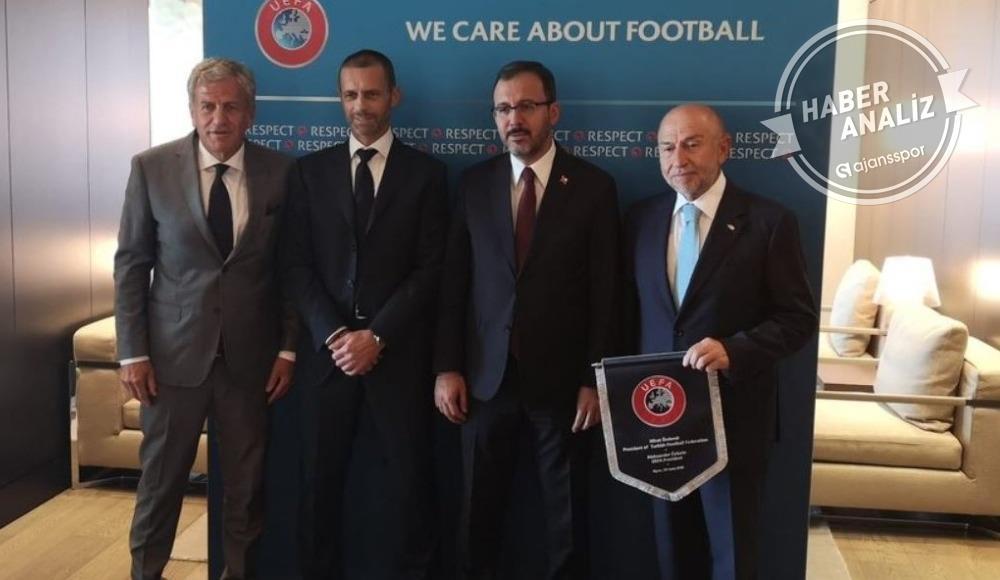 UEFA'ya şok talep, TFF'den Şampiyonlar Ligi hamlesi!