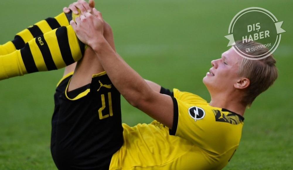 Borussia Dortmund'da Erling Haaland şoku