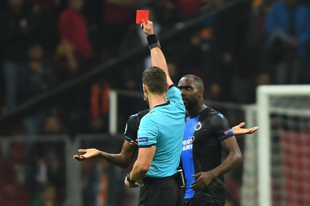 Galatasaray maçını yönetmişti...