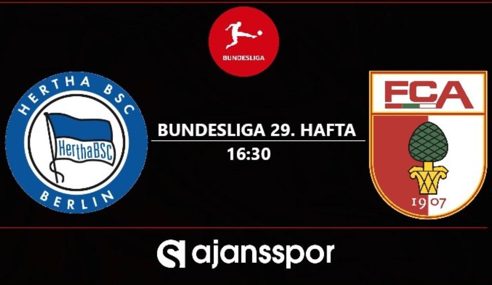 Hertha Berlin - Augsburg (Canlı Skor)