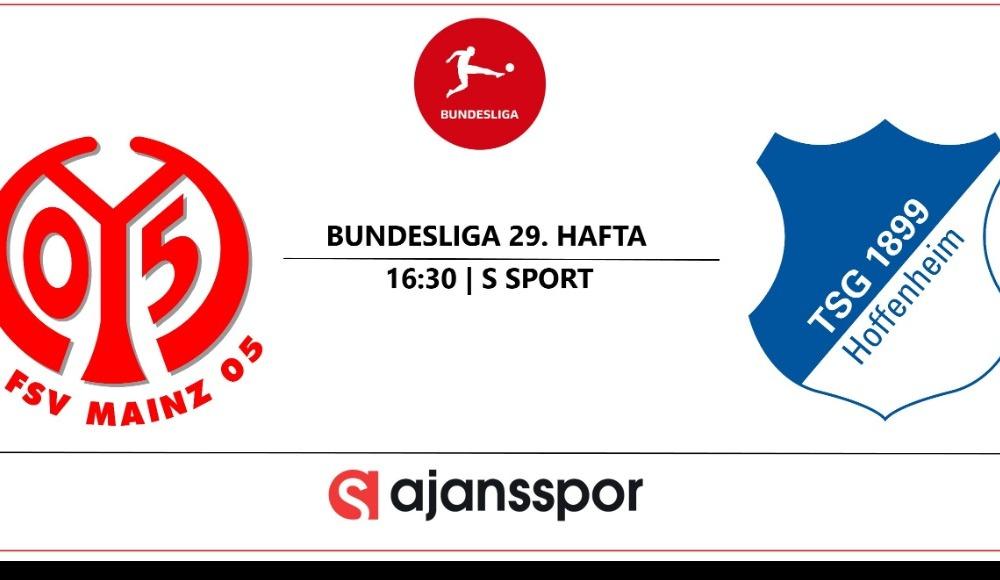 Mainz 05 - Hoffenheim (Canlı Skor)