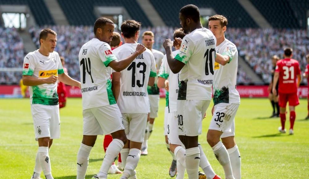 Borussia Mönchengladbach sahasında farklı kazandı!