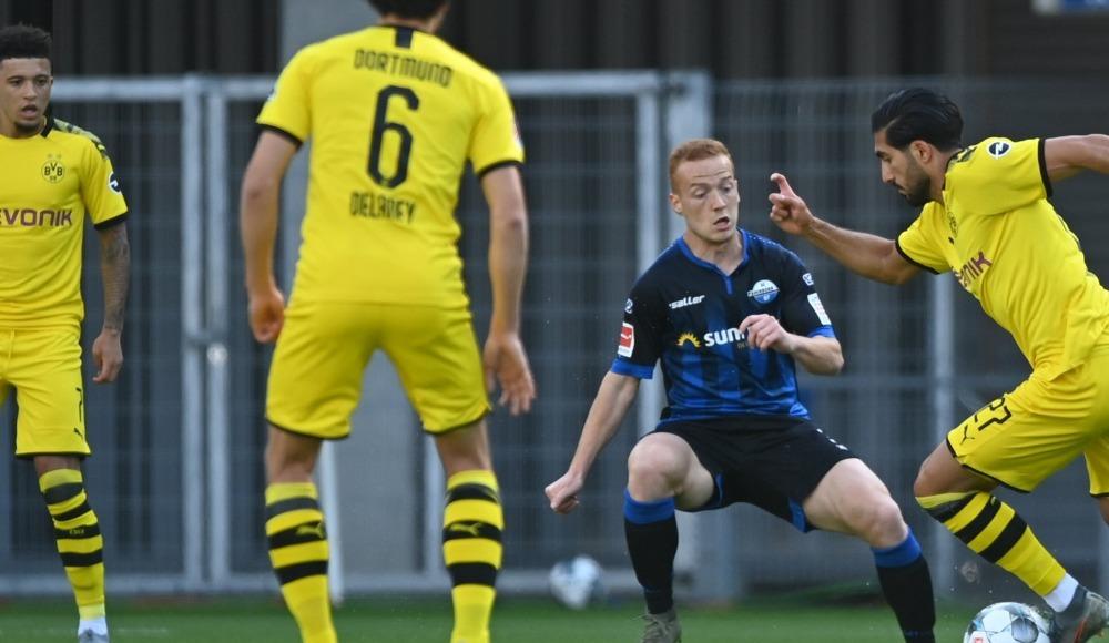 Dortmund, Paderborn'a gol yağdırdı