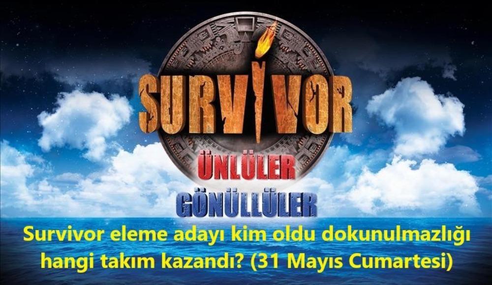 Son bölümde Survivor'da sürpriz isim eleme adayı oldu! Dokunulmazlığı kazanan takım...