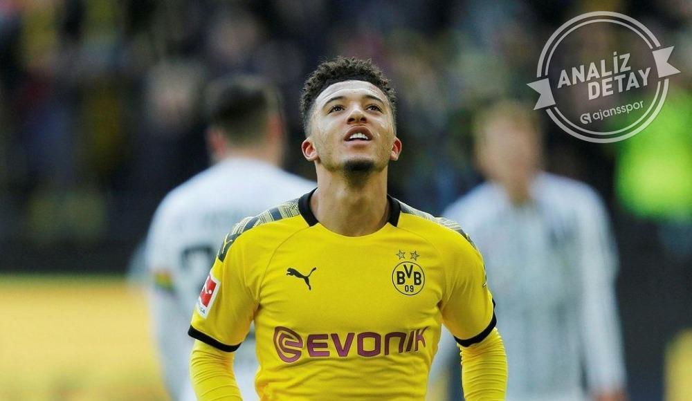 Jadon Sancho, Bundesliga tarihine geçti!