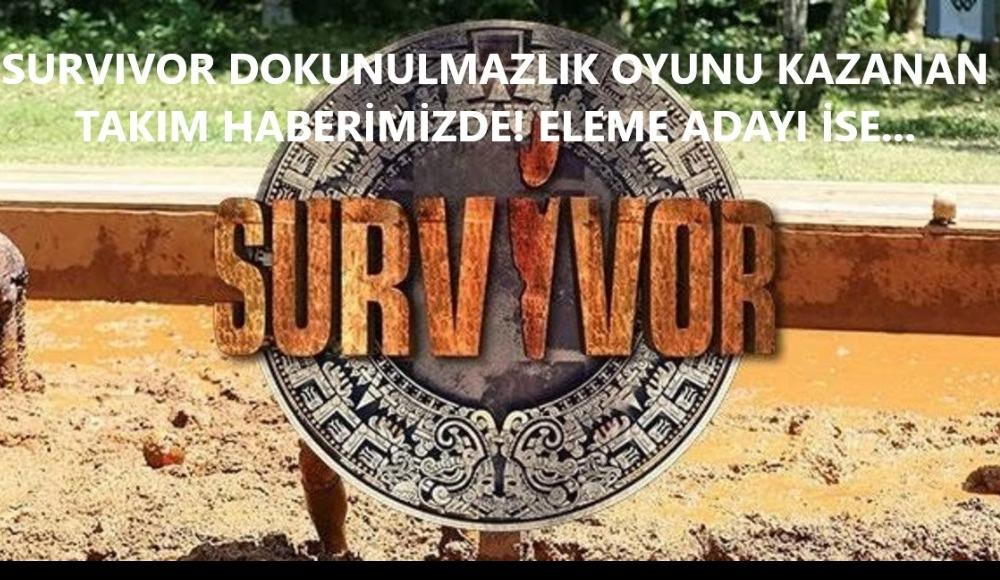 İşte dokunulmazlığın galibi ve konseyde yazılan isim! Survivor (31 Mayıs Pazar)