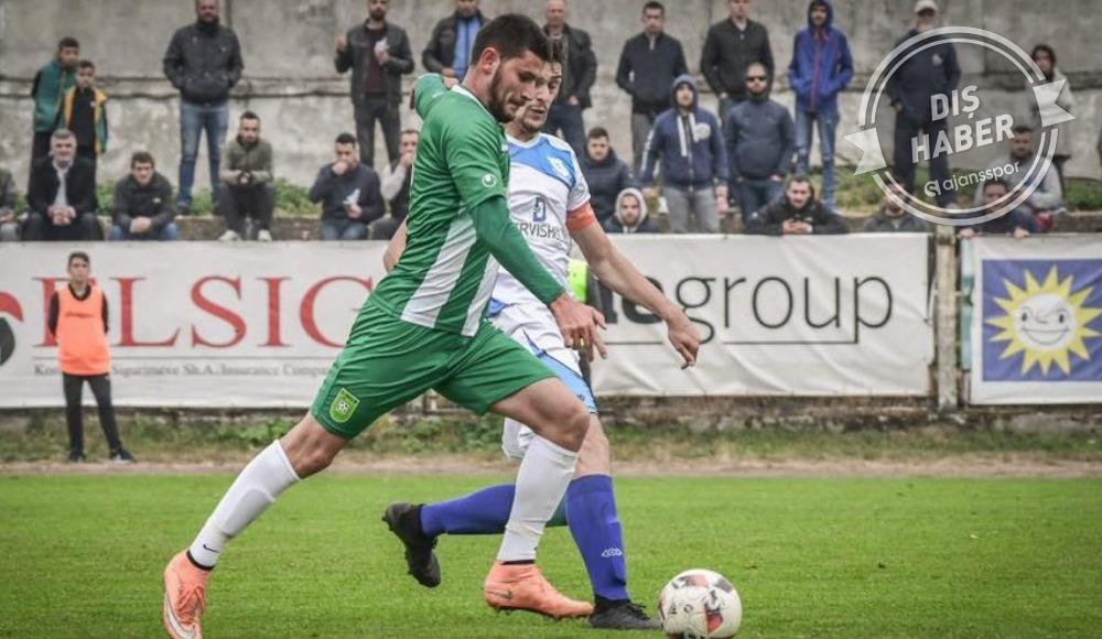 Kosovalı golcü Türkiye'den teklif aldığını doğruladı
