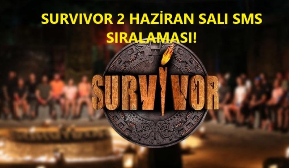 Survivor'da adaya kim veda etti? SMS sıralaması haberimizde
