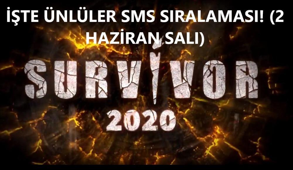 Survivor'da adaya kim veda edecek? İşte Ünlüler sms sıralaması...