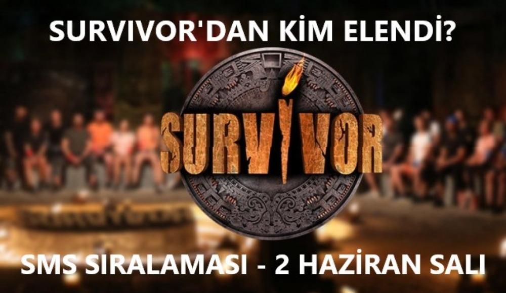 Canlı: Survivor'dan kim elendi, sms sıralaması nasıl? İşte tüm bilgiler...