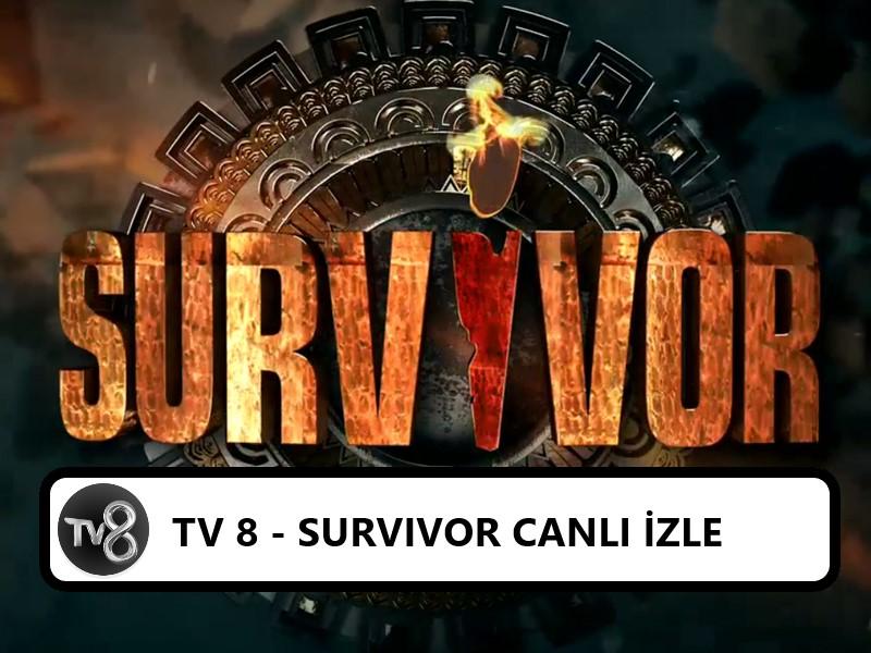 Survivor canlı izle | 97. bölüm canlı yayın | TV8 naklen seyret
