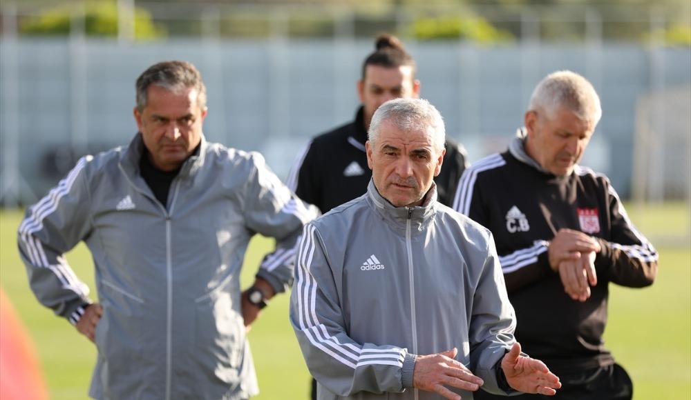 Sivasspor, Denizlispor maçının hazırlıklarına devam ediyor!