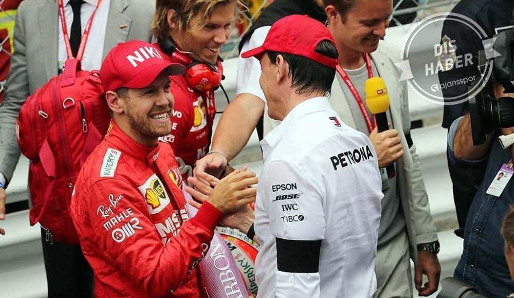Mercedes, Sebastian Vettel'e yeşil ışık yaktı!