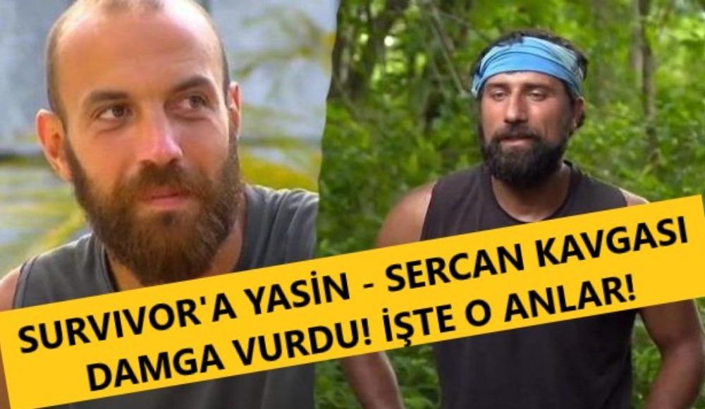 Survivor'da şok kavga! Yasin'den Sercan'a: 'Seni döverim, burayı terk ederim' | İşte o anlar...