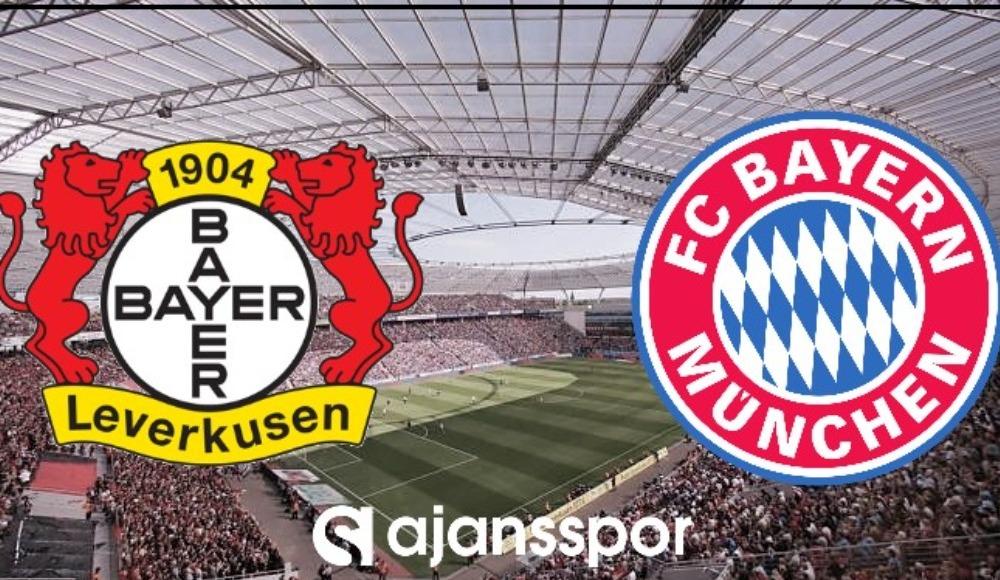 Bayer Leverkusen - Bayern Münih (Canlı Skor)