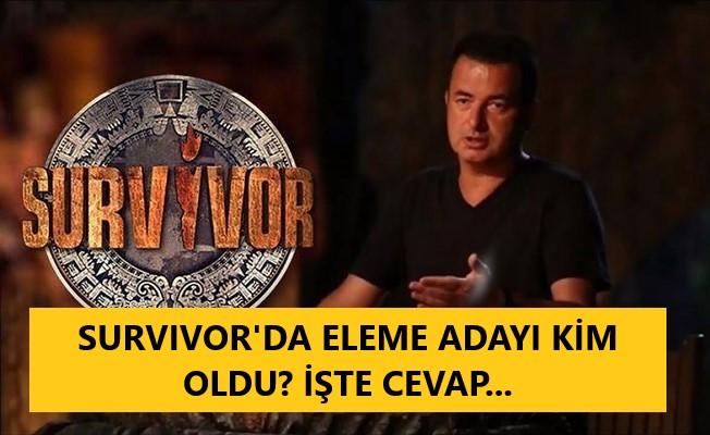 Survivor 7 Haziran eleme adayı kim oldu?