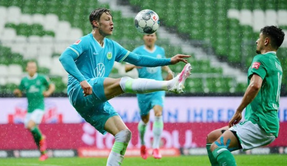 Wolfsburg, Werder Bremen'i ateşe attı!