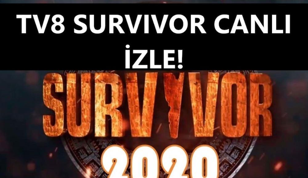 Survivor canlı izle | 100. bölüm canlı yayın | TV8 naklen seyret