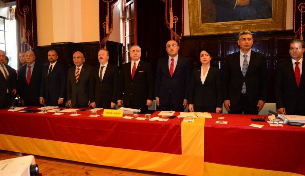 Galatasaray haziran ayı divan toplantısının gündemi yayınlandı