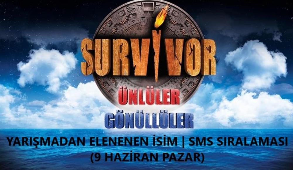 Survivor adaya veda eden isim ve sms sıralaması haberimizde! Tıklayın, öğrenin…