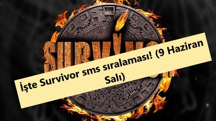 Survivor sms birincileri kim oldu 9 Haziran Salı