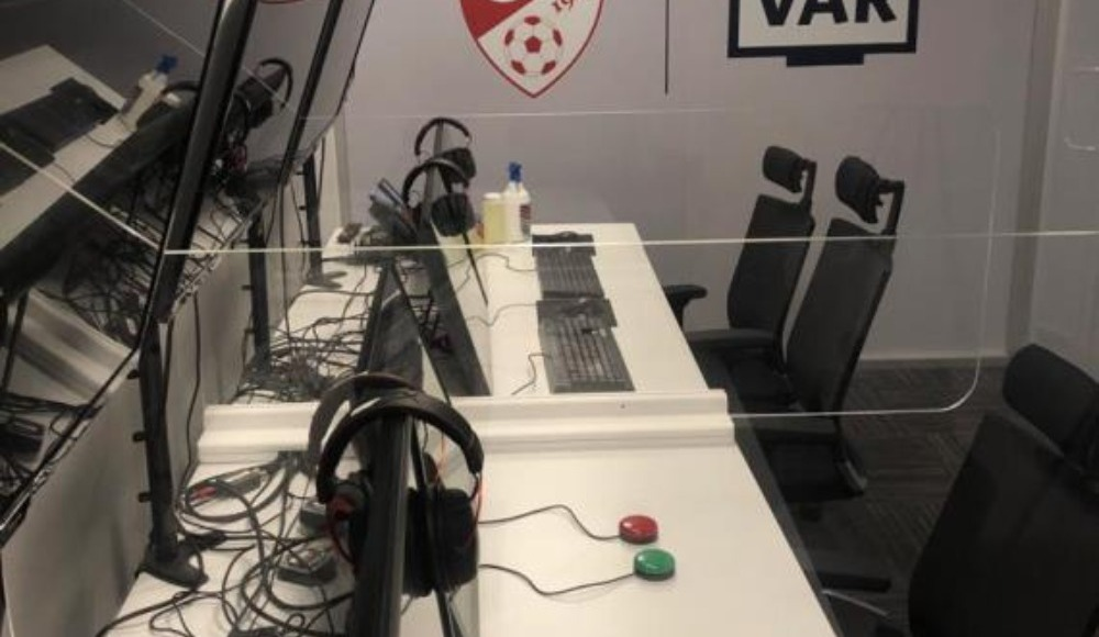 TFF Riva VAR Merkezi'nde Covid-19 önlemleri