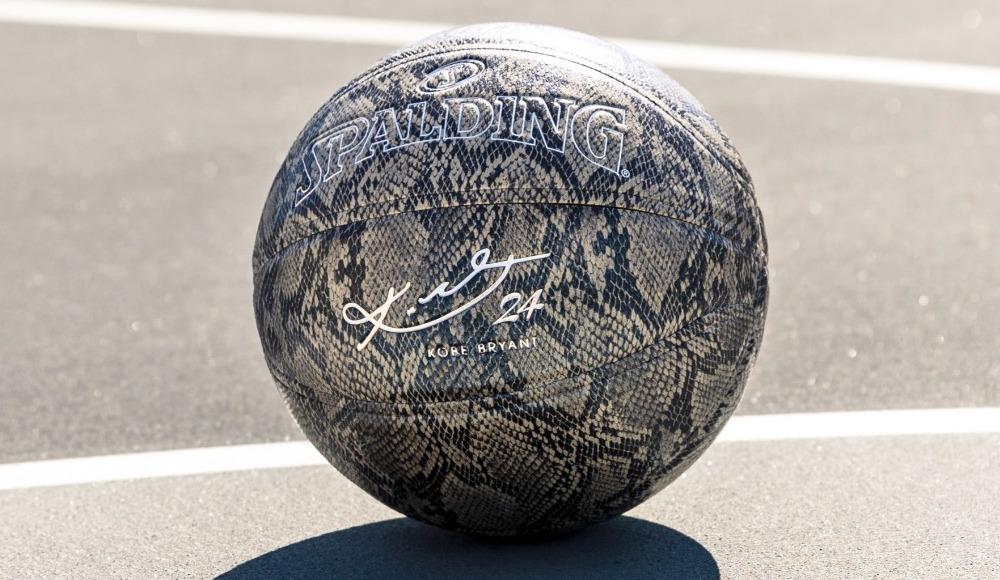 Spalding'ten Kobe Bryant temalı basketbol topu