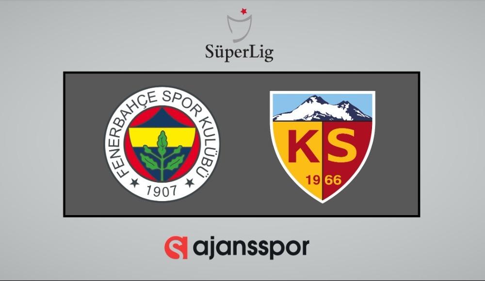 Fenerbahçe - Kayserispor (Şifresiz maç izle)