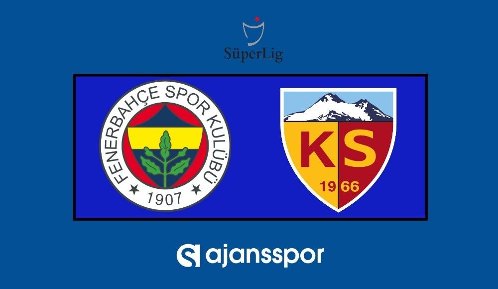 Fenerbahçe - Kayserispor (Maçı şifresiz izle)
