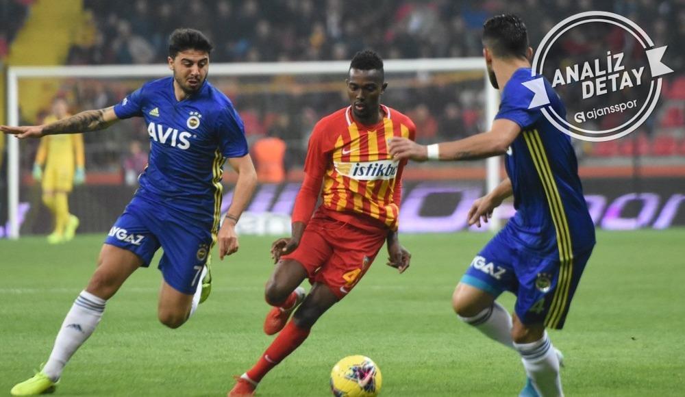 Kayserispor, ligde Fenerbahçe'ye ters geliyor