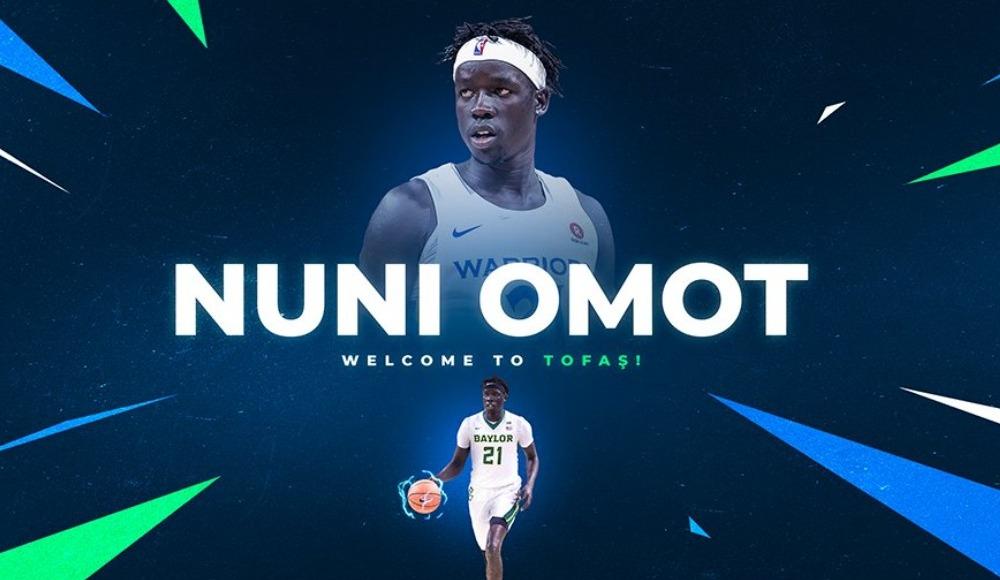 Nuni Omot, TOFAŞ'ta!