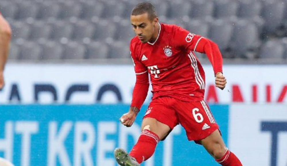 Bayern Münih'te Thiago Alcantara 3 hafta forma giyemeyecek
