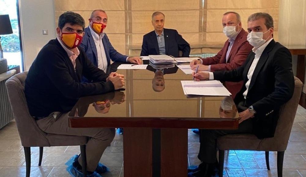 Mustafa Cengiz, yöneticilerle görüştü