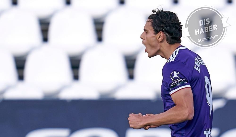 Enes Ünal attı, Real Valladolid güldü!