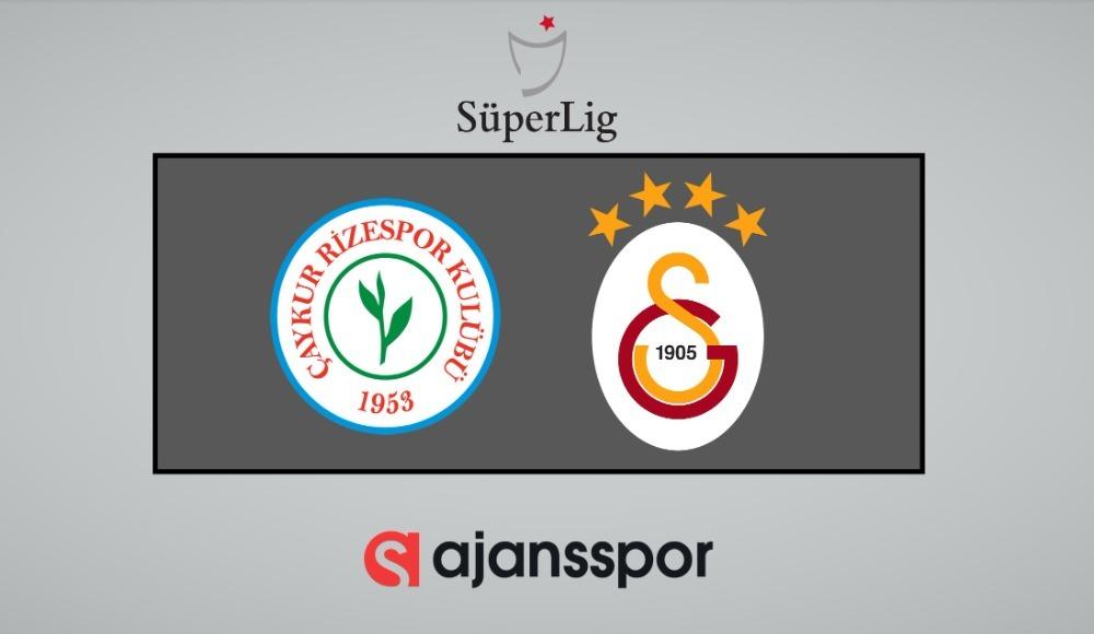 Çaykur Rizespor - Galatasaray (Şifresiz bedava izle)