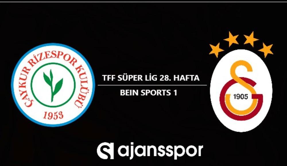 Çaykur Rizespor - Galatasaray | Şifresiz maç yayını