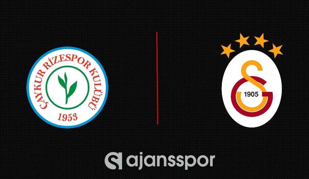 Şifresiz seyret: Çaykur Rizespor - Galatasaray