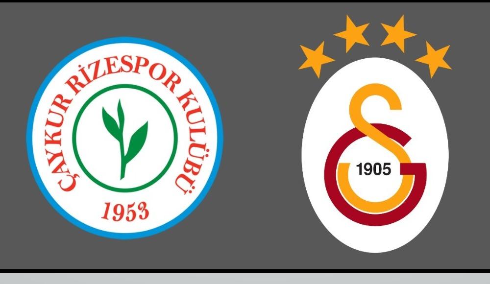 Şifresiz maç yayını: Rizespor - Galatasaray izle!