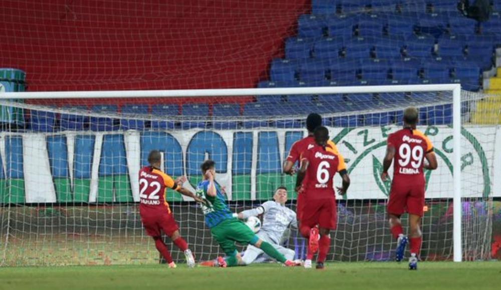 Galatasaray'da Rize stadyumu şanssızlığı...