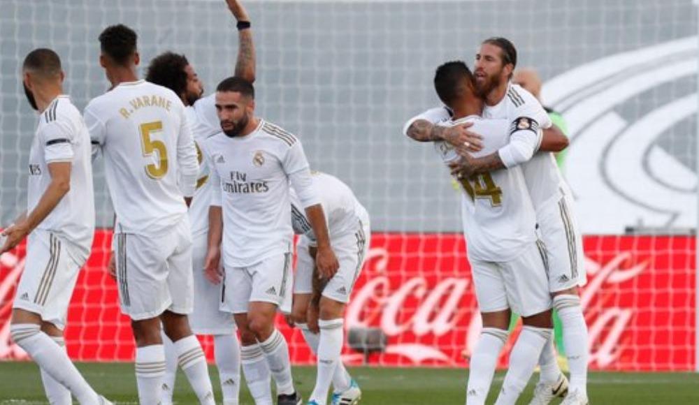 Real Madrid, evinde Eibar'ı 3-1 yendi