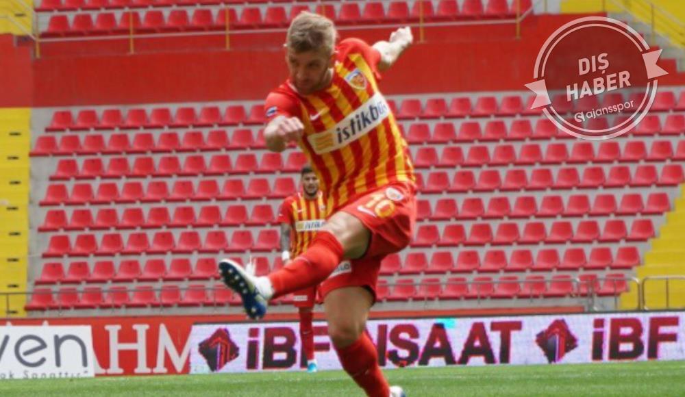 Coritiba, Kayserisporlu oyuncu ile ilgileniyor