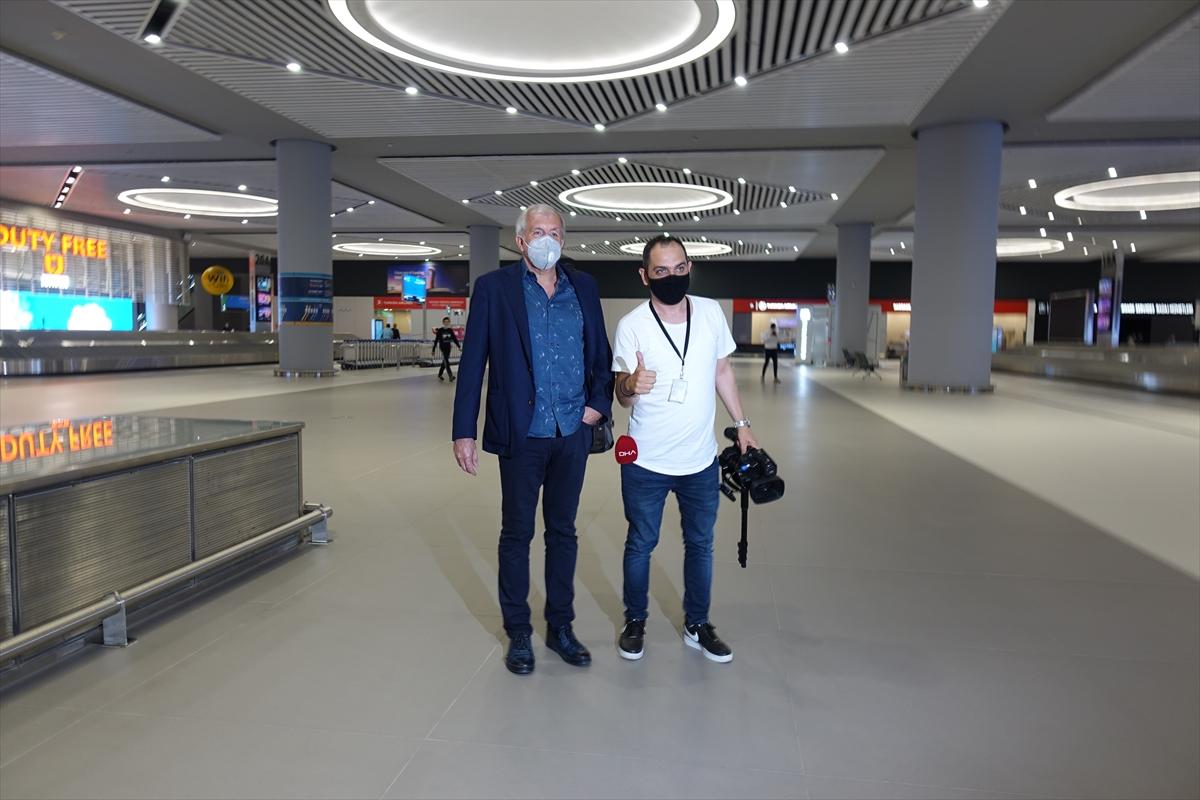 İstanbul'a geldi