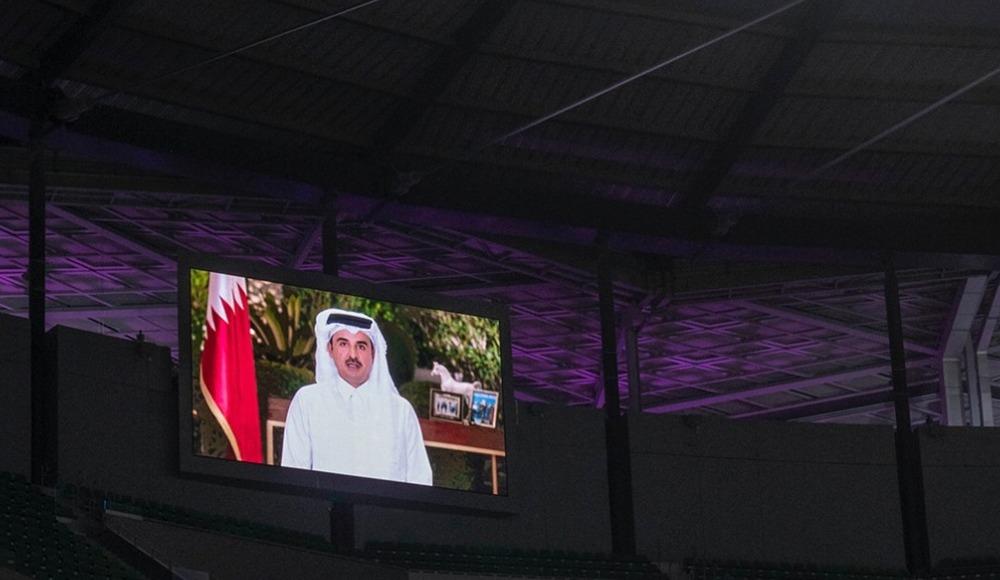 """Katar Emiri Al Sani: """"Dünya Kupası'nı izlemeye gelecek ziyaretçilerimizi sabırsızlıkla bekliyoruz"""""""