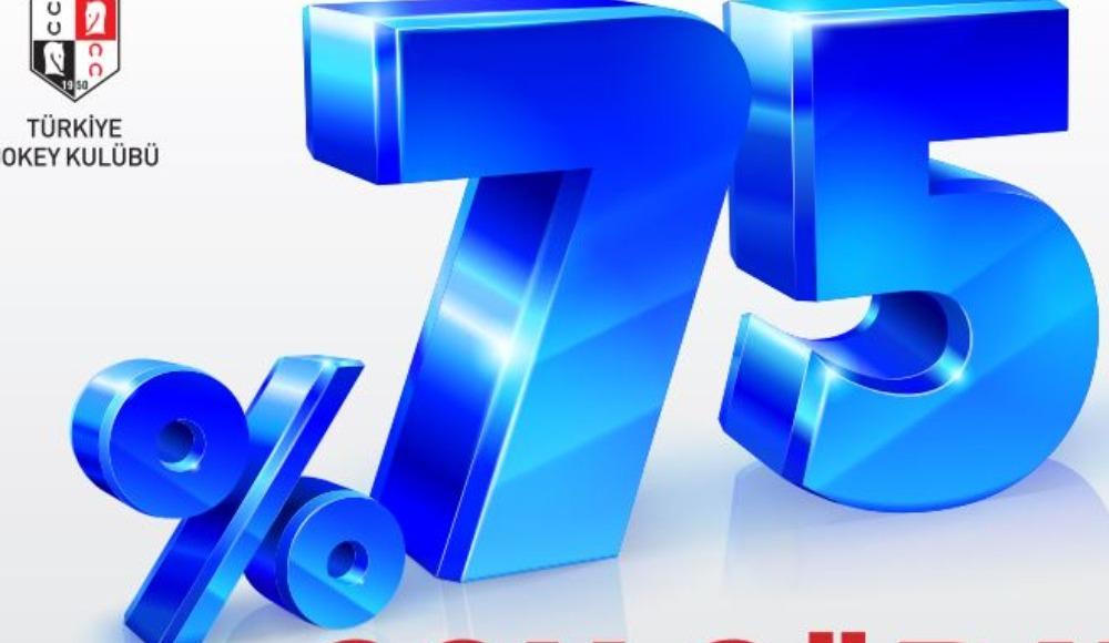 TJK'da % 75 son sürat devam ediyor