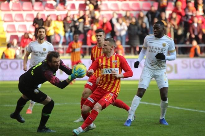 Kayserispor 5 kez galibiyeti kaçırdı