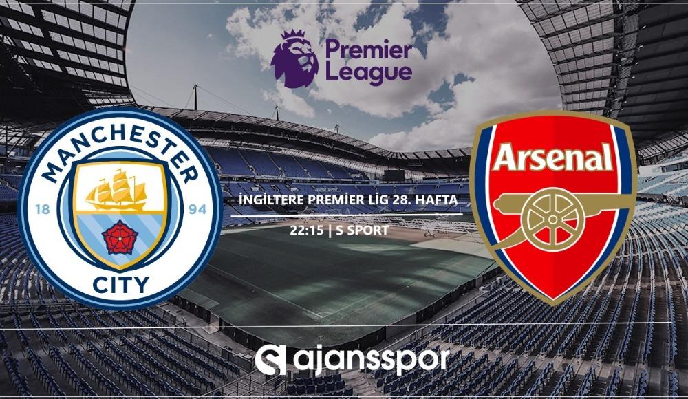 Manchester City - Arsenal (Canlı Skor)