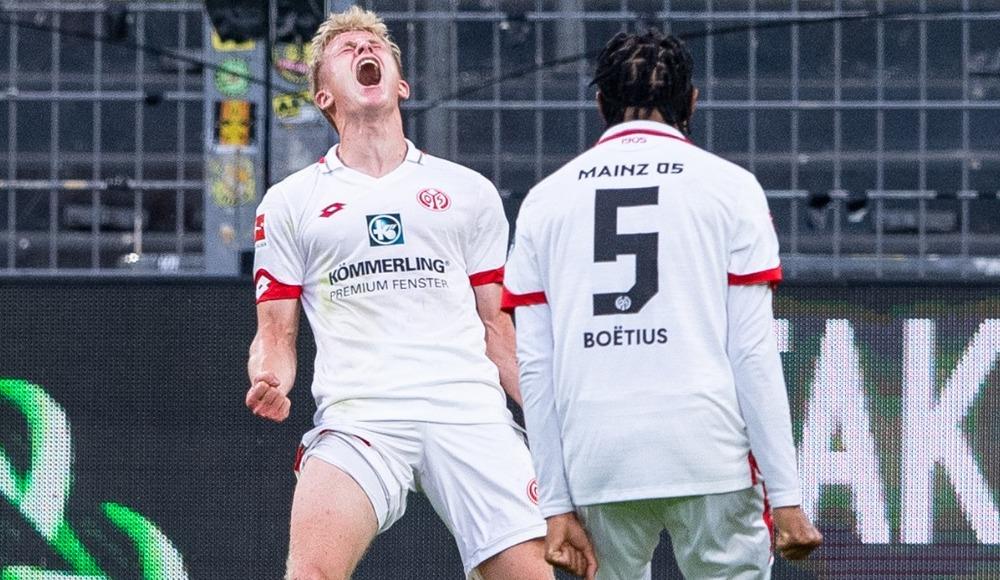 Mainz, deplasmanda Dortmund'u geçti
