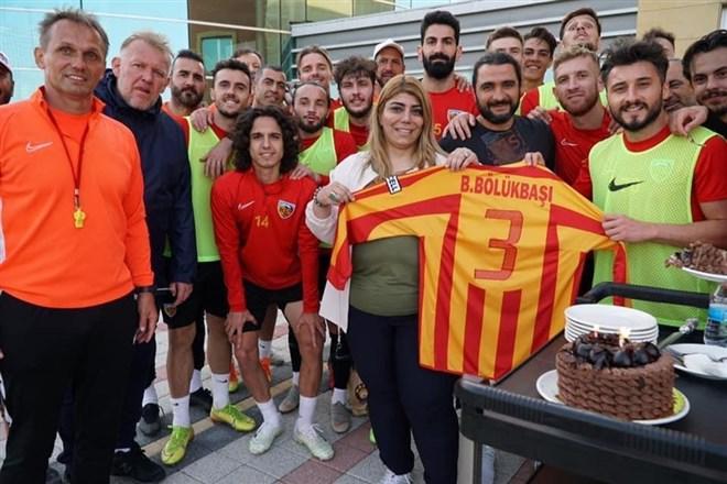 Kayserispor'da galibiyet sözü